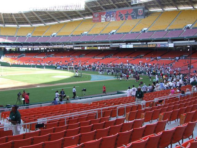 New York Yankees vs. Washington Nationals, R.F.K. Stadium ...