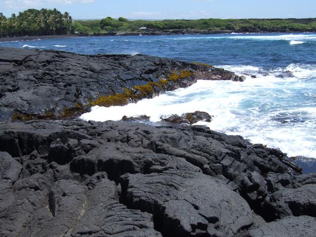 Punalu 39 u black sand beach park hawaii august 30 2006 Black sand beach hawaii