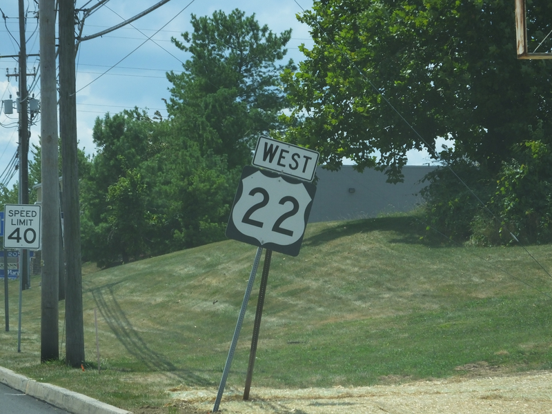 On the Roads in Maryland and Pennsylvania - August 5, 2015