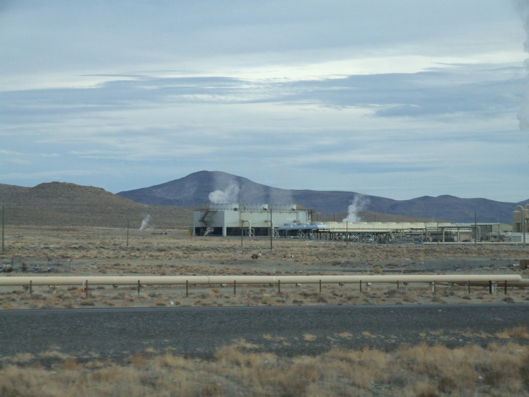 Nightingale Hot Springs, Nevada - November 16, 2007