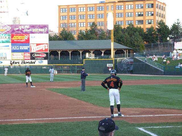 Syracuse Chiefs vs. Rochester Red Wings, Frontier Field ...
