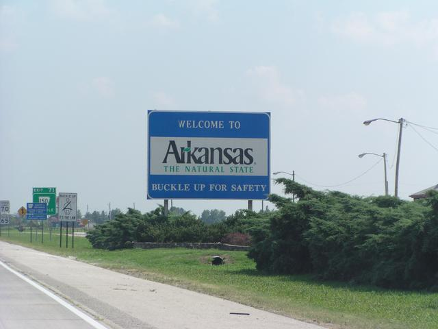 Welcome to welcome to arkansas the natural state buckle up for safety sciox Images