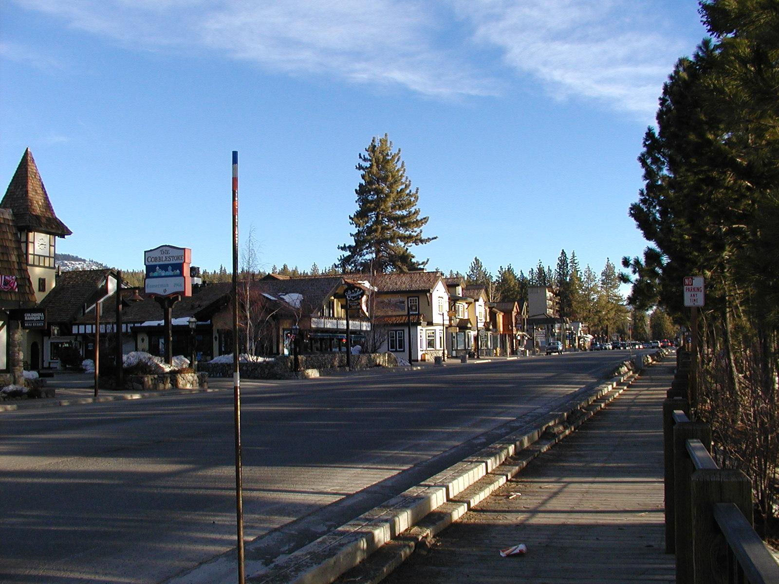 Tahoecity on lake tahoe