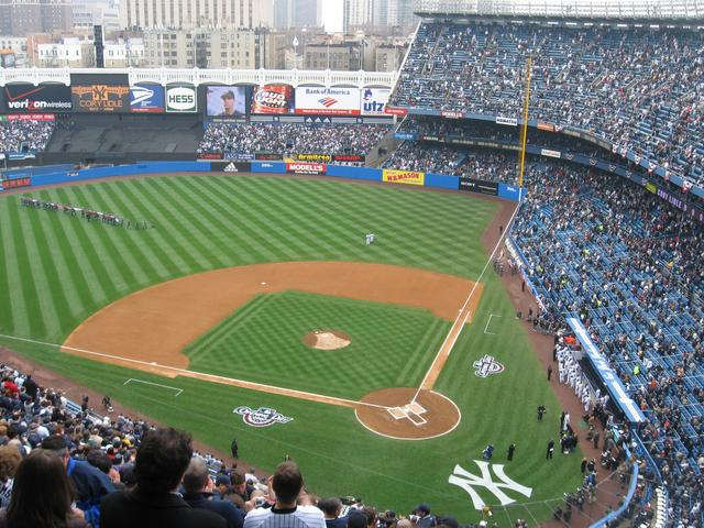 Tampa Bay Devil Rays vs. New York Yankees, Yankee Stadium ...