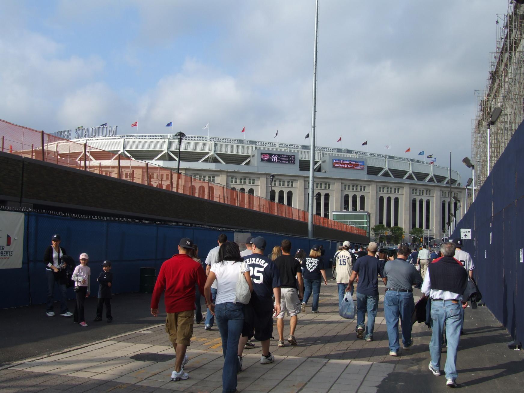 Washington Nationals Vs New York Yankees Yankee Stadium Bronx